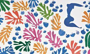 Henri Matisse - The Parakeet and the Mermaid1952 (detail)